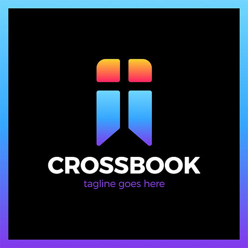 Logo Cross Bookmark