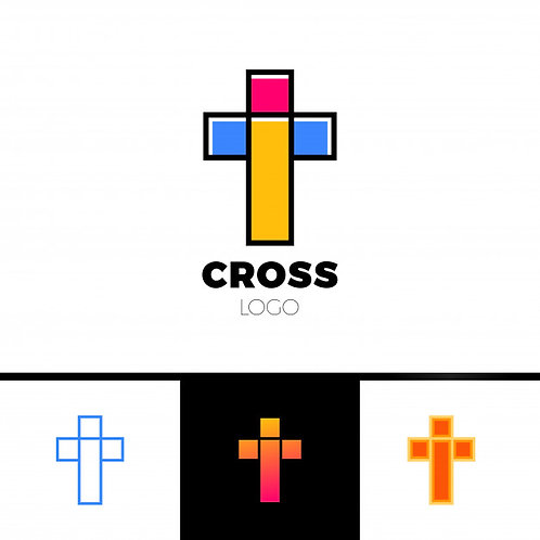 Set 4 Logo Cross
