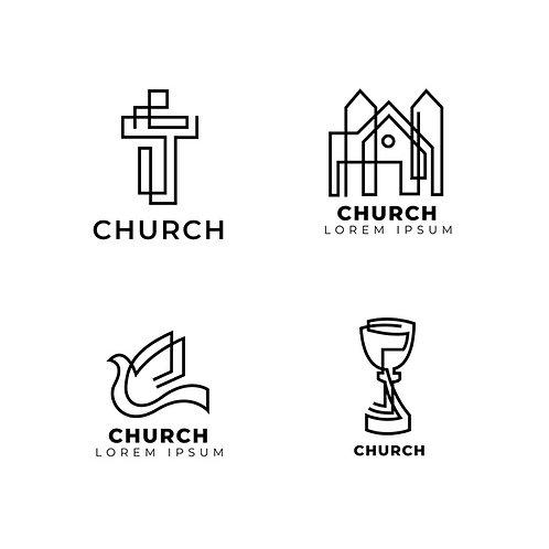 Set 4 Logo Church