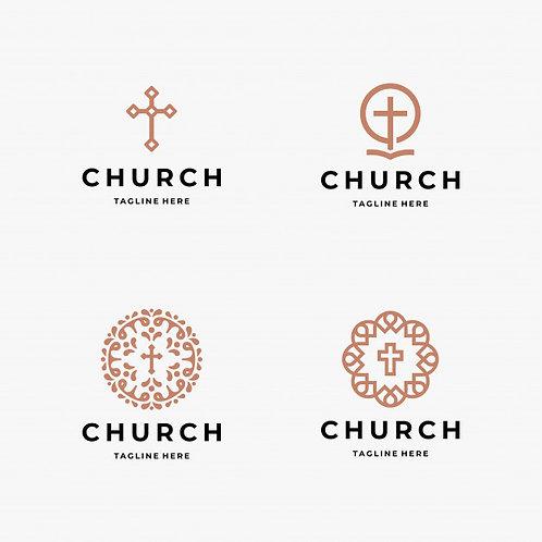 4 mẫu Logo Thánh Giá