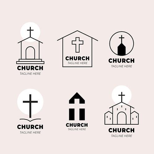 Set 6 church logo