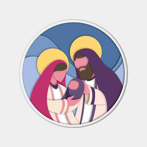 Vector Mừng Chúa Giáng Sinh - Vector Công Giáo