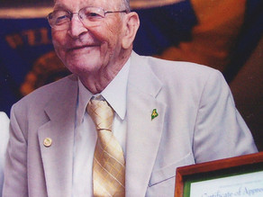 Passing of Falmouth Lion, Dick Winchenbach