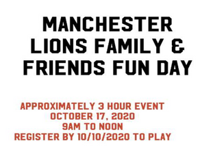 Family & Friends Fun Day | October 17, 2020
