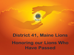 Lions Remembered