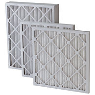 pleated panel disposable air filter