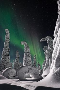 Aurore boréale à Kuusamo