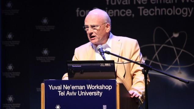 Richard A. Clarke speaks at the Third Annual International Cyber Security Conference of Tel Aviv University's Yuval Ne'eman Workshop, June 2013 (Photo credit: Courtesy)