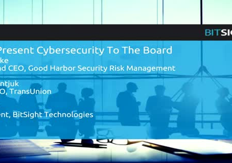 How to Present Cybersecurity to the Board