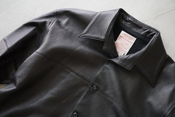 "NICENESS  ""CHARLIE"" glove leather shirt blouson nappa ("