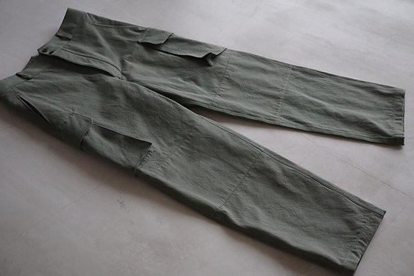 MAATEE&SONS  military trousers (green)
