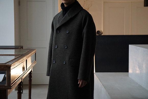 MAATEE&SONS  mackinaw coat  (loden)
