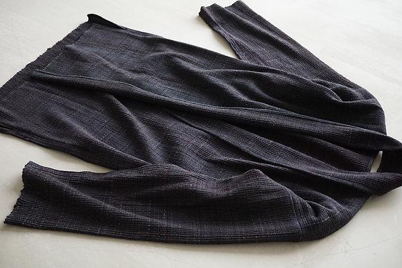 MITTAN  IROIRO裂織ジャケット (黒系)