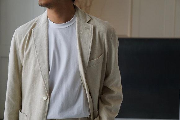 "tilt The authentics ""unum exclusive"" 2b noched tailored jacket (ecru)"
