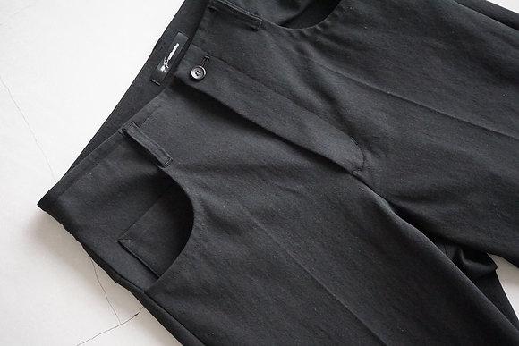 tilt The authentics  strong twist 5 pocket pants (black)