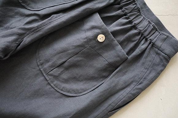 Aquellos Ojos Verdes  Relax trousers (navy grey)