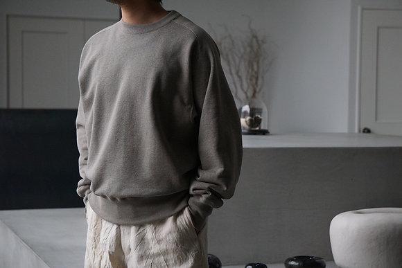 MAATEE&SONS  crew neck sweat (grey)