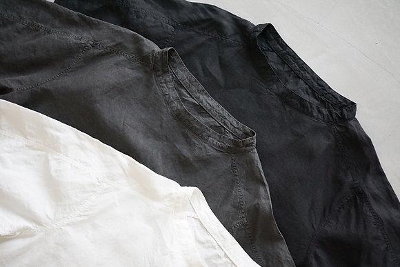MITTAN  大麻プルオーバー(薄) (白,炭,黒)