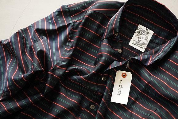 I am dork  loose shirts (navy stripe)