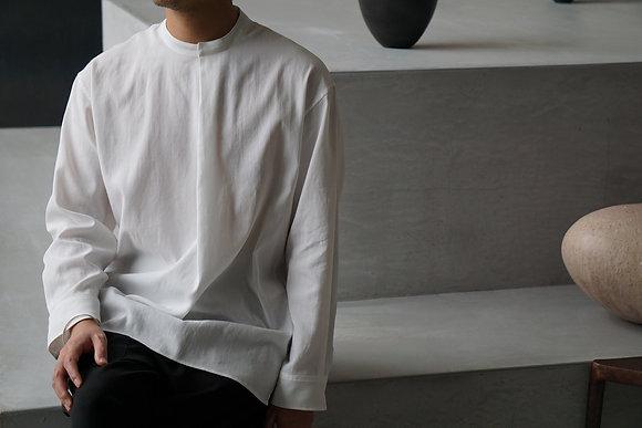 TALK TO ME  メンズシャツ01 (white)