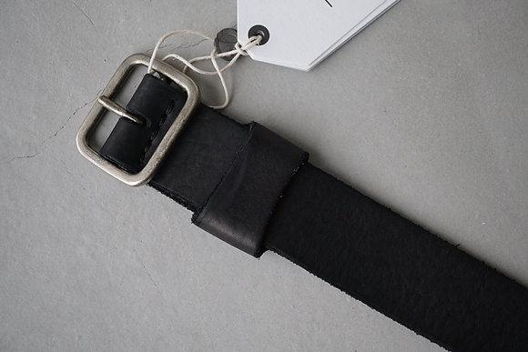 GUIDI  buckle belt (black)