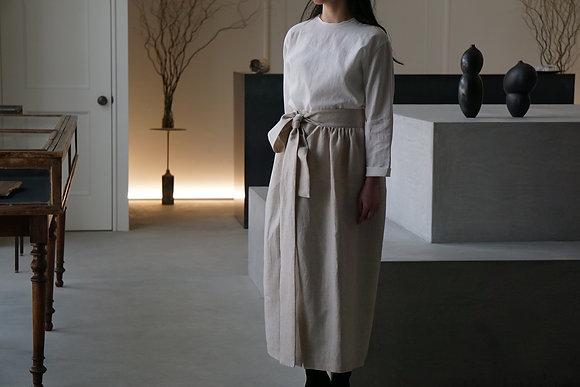TALK TO ME  コットンリネンスカート (beige)