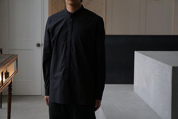 山内 ハイブリッドコットンシャツ (black)