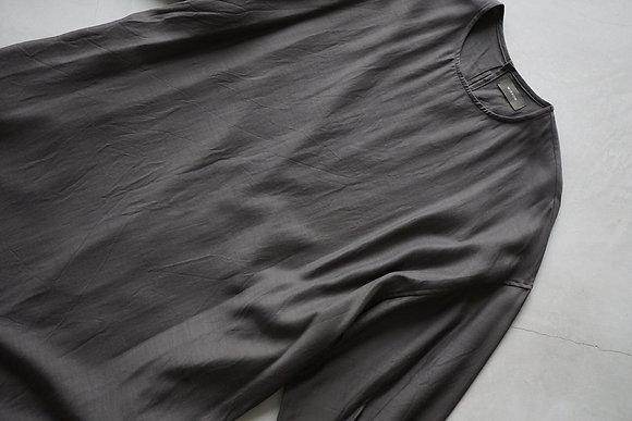 WIRROW  cupro cotton crewneck dress (mocha)