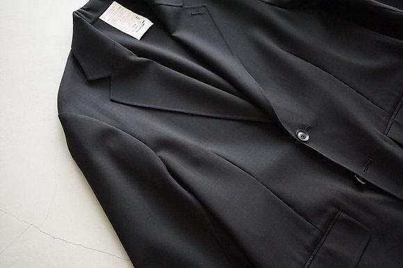 """NICENESS  """"TREVOR"""" W/PU stretch double jacket (black)"""