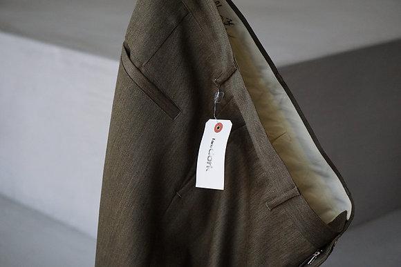 I am dork  baggy pants (khaki×mustard)