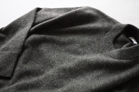 MAATEE&SONS  cashmere neoshaggy sweater (forest)