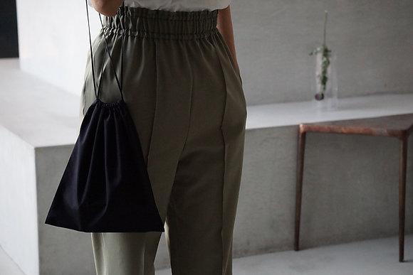 POSTELEGANT  wool silk bag (navy)