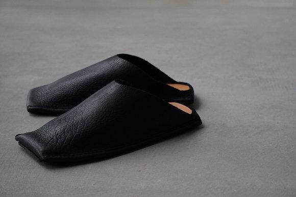 GUIDI  slipper (black)