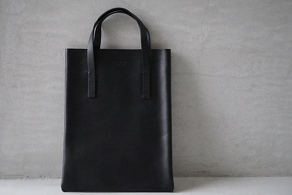 POSTELEGANT  cow leather small bag (black)