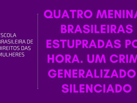 Quatro meninas brasileiras estupradas por hora. Um crime generalizado e silenciado