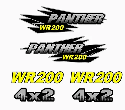 Kit Calcos - Grafica Panther 250 Laminados