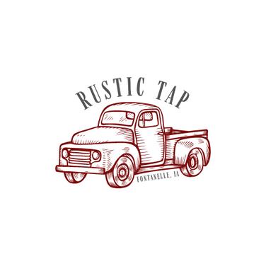 Logo Design - Rustic Tap