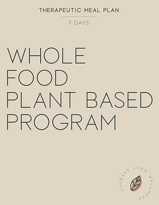 Whole Food Plant Based Program