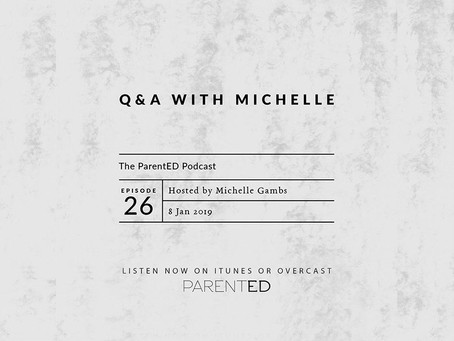 """Episode 26: Q&A with Michelle – Being Grateful, """"That's Not Fair,"""" and Reasoning with Young Children"""