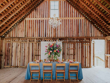 WEDDINGDAY EXCLUSIVE STYLE SHOOT: ZYNTANGO FARM WEDDING BARN