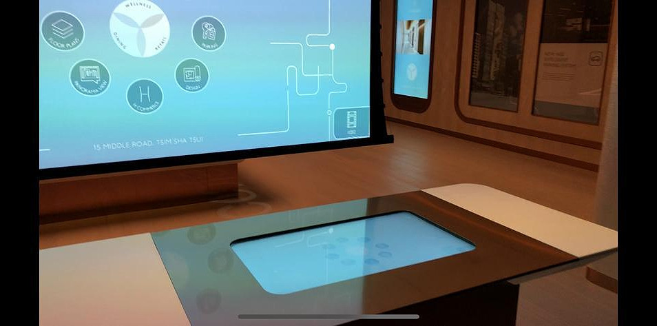 Panoramic on Multitouch Table