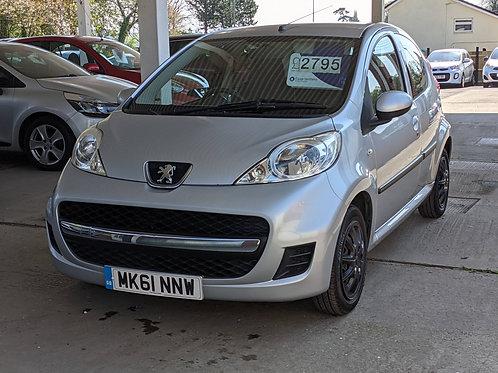 2011 Peugeot 107 1.0 12v Urban 5dr Hatchback