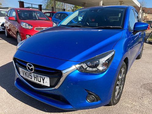 2015 Mazda Mazda2 1.5 SKYACTIV-G Sport Nav (s/s) 5dr Hatchback