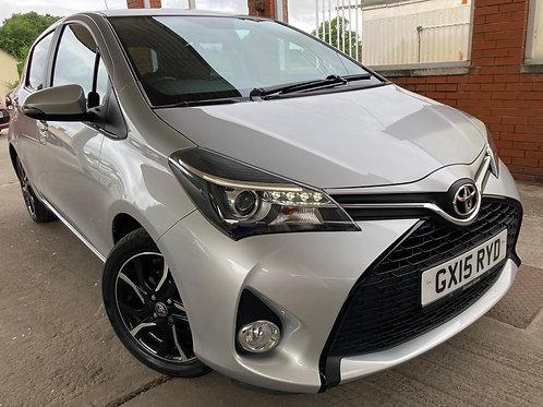 2015 Toyota Yaris 1.33 Dual VVT-i Sport 5dr EU5 Hatchback