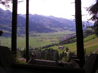 Blick auf Piesendorf