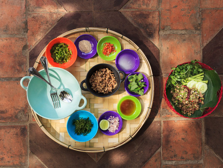 Manda de Laos Delicious Laap Moo