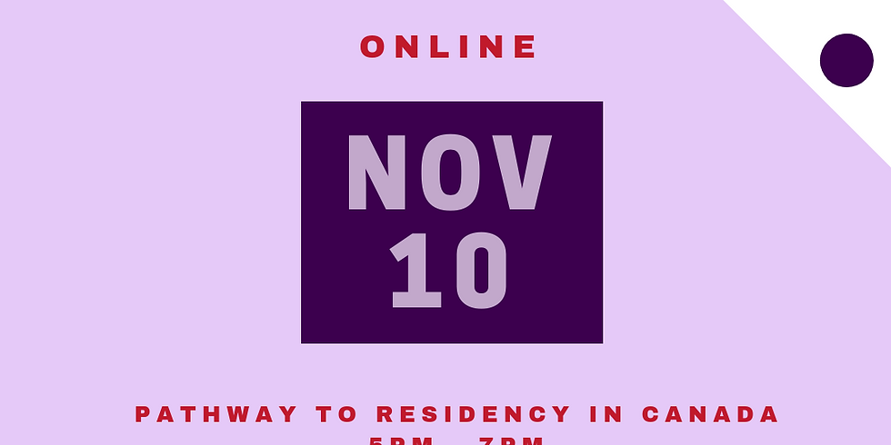 Pathway to Residency in Canada - International Students