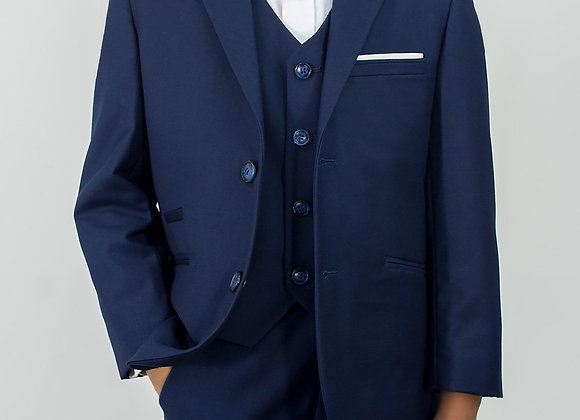 Boys navy Jefferson suit