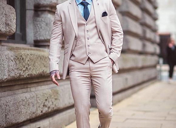Cream sandom 3 piece suits