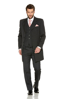 Slate Grey Herringbone Price Edward Suit
